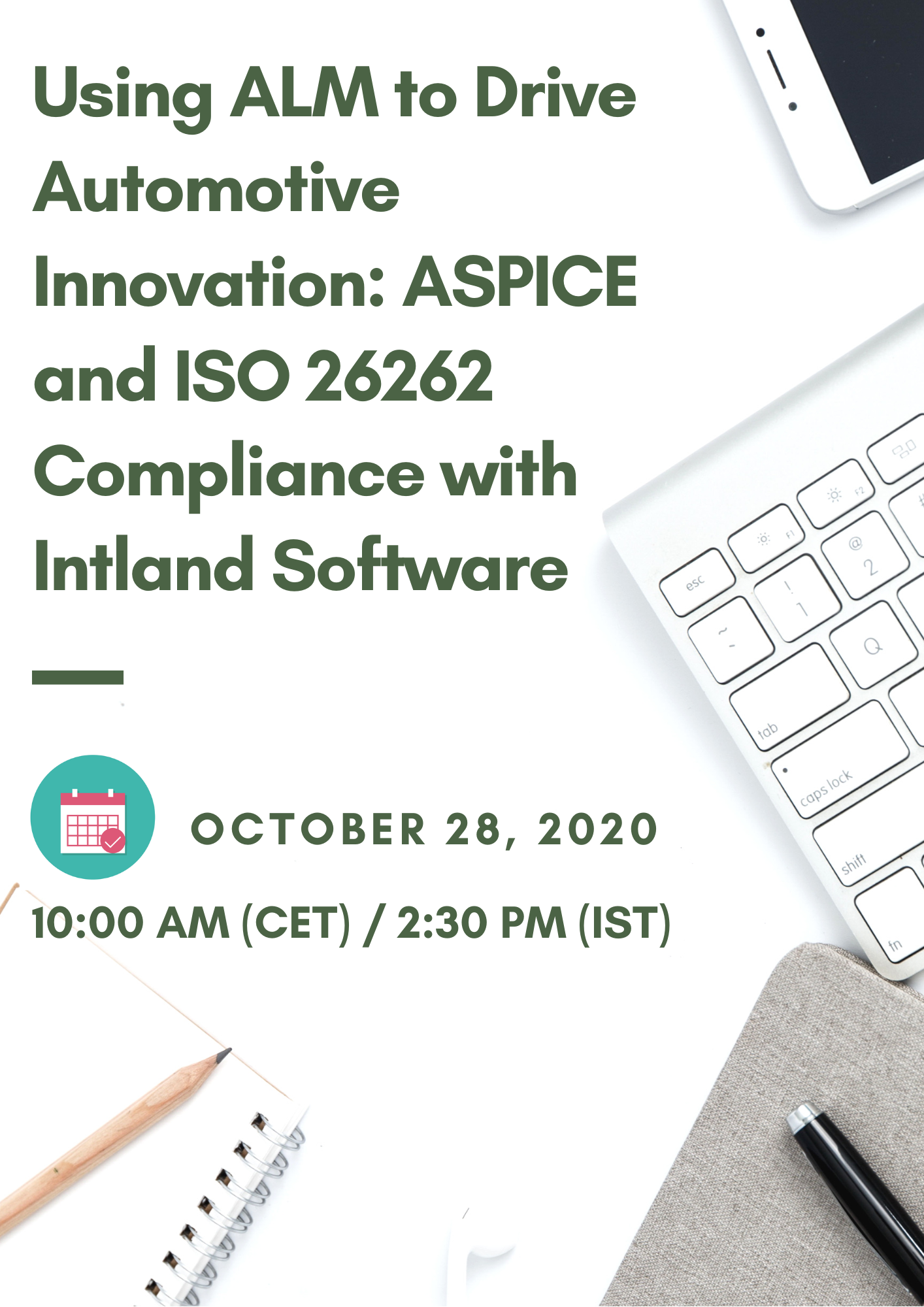 Using ALM to Drive Automotive Innovation: ASPICE and ISO 26262 Compliance with Intland Software